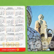 Coleccionismo Calendarios: CALENDARIO BOLSILLO. 1998. CAIXA CATALUNYA. CAJA CATALUÑA. CATALAN. BANCO. BANCOS. GAUDI. PEDRERA.. Lote 30914629
