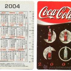 Coleccionismo Calendarios: CALENDARIO BOLSILLO. 2004. COCA COLA. CASTELLANO. BEBIDA. BEBIDAS.. Lote 30927463