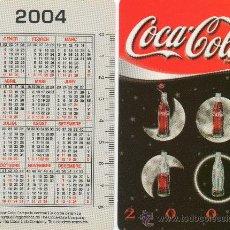 Coleccionismo Calendarios: CALENDARIO BOLSILLO. COCA COLA. 2004. CATALAN. BEBIDA. BEBIDAS.. Lote 32183617