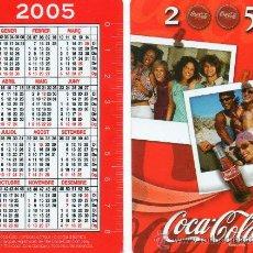 Coleccionismo Calendarios: CALENDARIO BOLSILLO. COCA COLA. 2005. CATALAN. BEBIDA. BEBIDAS.. Lote 34316680