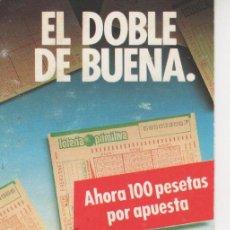 Coleccionismo Calendarios: CALENDARIO 1988 - LOTERÍA PRIMITIVA. Lote 30944083