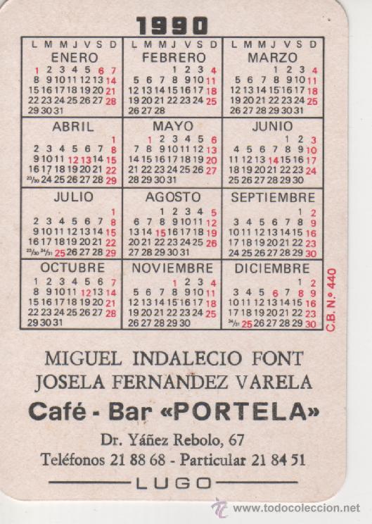 1990 Calendario.Calendario 1990 Serie Deportes Olimpiadas De Barcelona 92