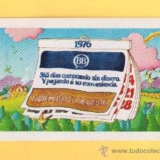Coleccionismo Calendarios: 01-CALENDARIO DEPUBLICIDAD DEL H FORNIER DEL AÑO 1976 DE BANCO DE BILBAO. Lote 31000707