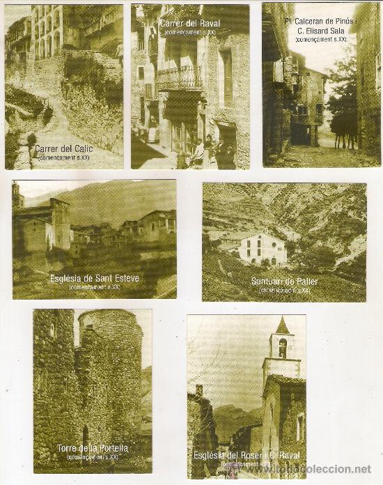 -37712 9 CALENDARIOS CIUDAD DE BARCELONA, PRECIOSOS RINCONES Y MONUMENTOS, AÑO 2006 (Coleccionismo - Calendarios)