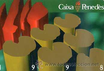 CALENDARIO CAIXA PENEDÉS 1998 (Coleccionismo - Calendarios)