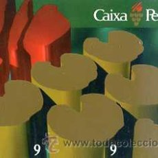 Coleccionismo Calendarios: CALENDARIO CAIXA PENEDÉS 1998. Lote 31228535