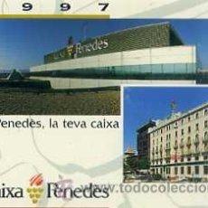 Coleccionismo Calendarios: CALENDARIO CAIXA PENEDÉS 1997. Lote 31228552