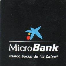Coleccionismo Calendarios: CALENDARIO BOLSILLO LA CAIXA AÑO 2008 CAIXABANK CAIXA BANK CAJA PENSIONES. Lote 31299910