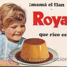 Coleccionismo Calendarios: CALENDARIO BOLSILLO FLAN ROYAL 1970. Lote 31319117
