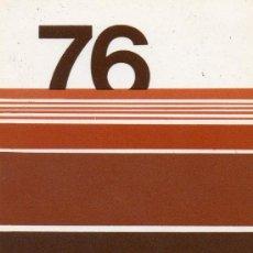 Coleccionismo Calendarios: CALENDARIO BOLSILLO LA CAIXA. AÑO 1976. CASTELLANO. CAJA PENSIONES. PENSIONS. CAIXA BANK. CAIXABANK. Lote 31366150