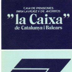 Coleccionismo Calendarios: CALENDARIO BOLSILLO LA CAIXA. AÑO 1977. CASTELLANO. CAIXABANK. CAJA PENSIONES. PENSIONS. BANK. Lote 31366492