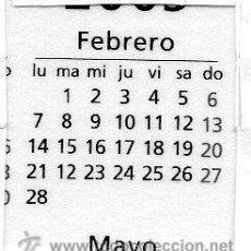 Coleccionismo Calendarios: ERROR. CALENDARIO BOLSILLO LA CAIXA. AÑO 2005. CAIXABANK. CAJA PENSIONES. PENSIONS. ESPAÑOL. LEER. Lote 31366695
