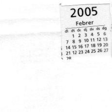 Coleccionismo Calendarios: ERROR. CALENDARIO BOLSILLO LA CAIXA. AÑO 2005. CAIXABANK. CAJA PENSIONES. PENSIONS. CATALAN. LEER. Lote 31366783