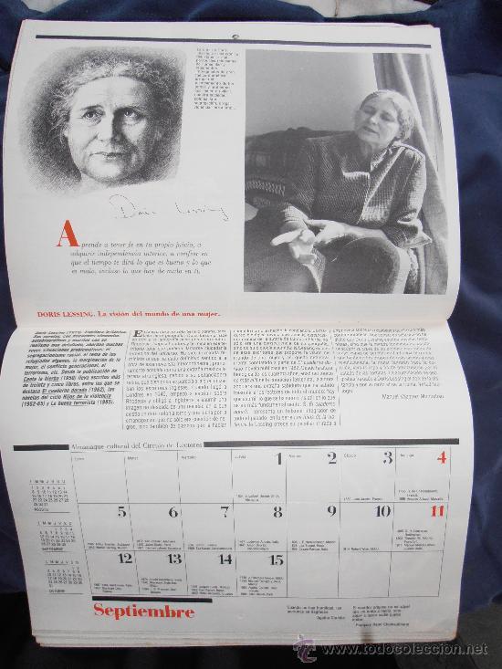 Coleccionismo Calendarios: ALMANAQUE CULTURAL DE 1988 DE CIRCULO DE LECTORES - Foto 3 - 31510195