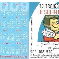 Coleccionismo Calendarios: CALENDARIO ADMON.LOTERIAS LA ENVIDIOSA AÑO 2009. Lote 31567671