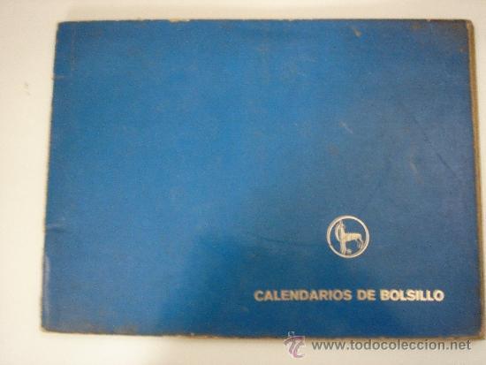 Coleccionismo Calendarios: CATÁLOGO COMPLETO CALENDARIOS DE BOLSILLO, AÑO 1975 - Foto 2 - 31572456