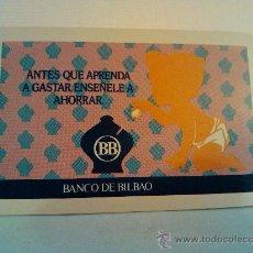 Coleccionismo Calendarios: CALENDARIO FOURNIER. 1976. BANCO DE BILBAO. Lote 31707694