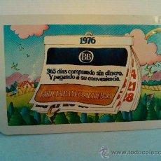 Coleccionismo Calendarios: CALENDARIO FOURNIER. 1976. BANCO DE BILBAO. Lote 31707697