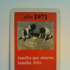 Coleccionismo Calendarios: CALENDARIO FOURNIER 1971. CAJA DE AHORROS DE ASTURIAS. Lote 31708903
