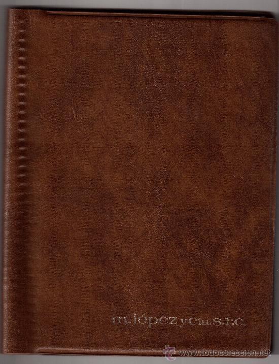 agenda calendario 1980, cuadros de mariano fort - Comprar