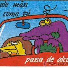 Coleccionismo Calendarios: CALENDARIO FOURNIER PASA DEL ALCOHOL DE 1991 (QUIERELE ...). Lote 32316598