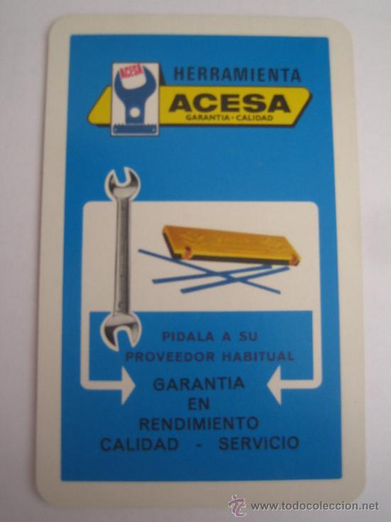 CALENDARIO HERACLIO FOURNIER ACESA 1972 (Coleccionismo - Calendarios)