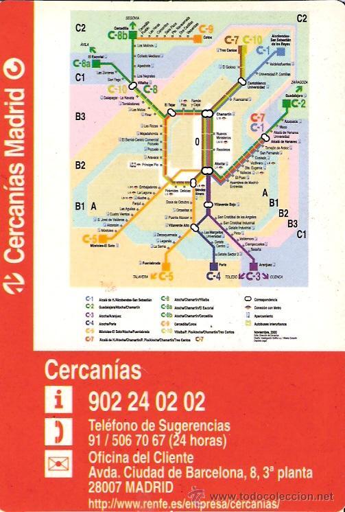 Calendario 2001.Cercanias Madrid Calendario 2001 Calendario De Sold Through