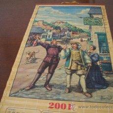 Coleccionismo Calendarios: PRECIOSO CALENDARIO DEL 2001 ES DE MADERA DE BAMBU Y MIDE 85 X32 ES MUY BONITO ,VER FOTO ADICIONAL. Lote 32434174