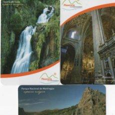 Coleccionismo Calendarios: 3 CALENDARIOS PUBLICITARIOS ( PALENCIA 2010 ). Lote 32695125