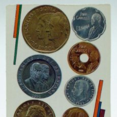 Coleccionismo Calendarios: CALENDARIO BOLSILLO 1992 LAS NUEVAS MONEDAS FÁBRICA NACIONAL MONEDA Y TIMBRE. Lote 32699407