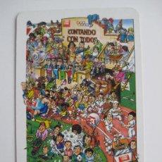 Coleccionismo Calendarios: CALENDARIO FOURNIER, EL CORREO ESPAÑOL DE 1989. Lote 32746285