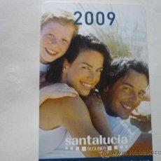 Coleccionismo Calendarios: CALENDARIO 2009 SEGUROS SANTALUCIA. Lote 32930156