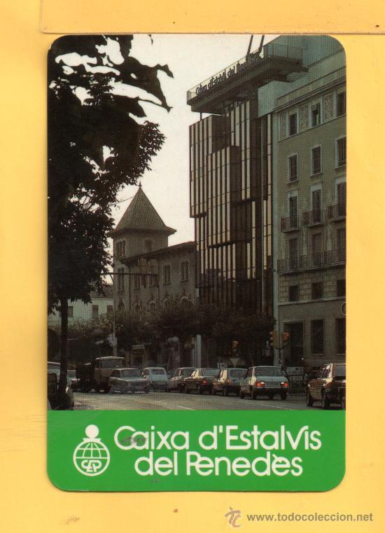 CALENDARIO DEL AÑO 1984 DE CAIXA D´ESTALVIS DEL PENEDES EN CATALAN (Coleccionismo - Calendarios)