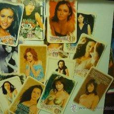 Coleccionismo Calendarios: LOTE CALENDARIOS EXTRANJEROS 2003 SEÑORITAS. Lote 33025142