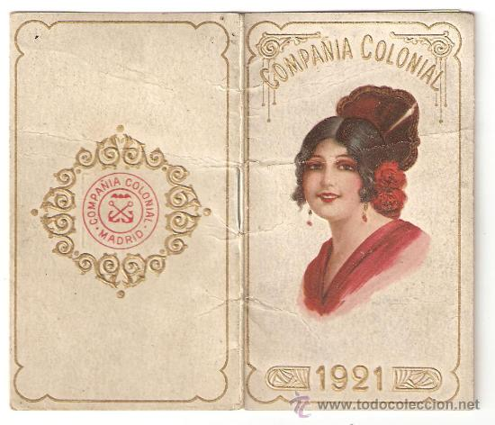 Calendario 1921.Madrid Calendario 1921 Compania Colonial Sold Through