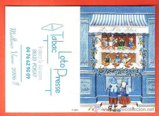 Calendario Frances.Calendario Bolsillo Frances Tienda De Peluches Juguetes Diptico Ano 2006