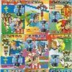 Coleccionismo Calendarios: 18 CALENDARIOS DE FUTBOL DE 2000. Lote 33112779