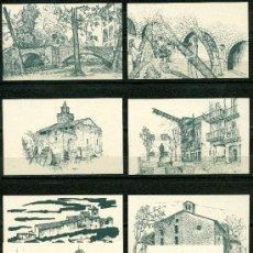 Coleccionismo Calendarios: 9 CALENDARIOS BAGA 2010 (CATALÁN). Lote 41358896