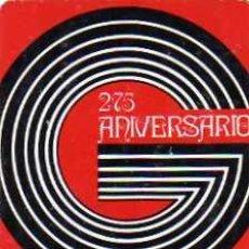 Coleccionismo Calendarios: CALENDARIO FOURNIER. 1973. L. GUARRO CASAS. 275 ANIVERSARIO.. Lote 33386776
