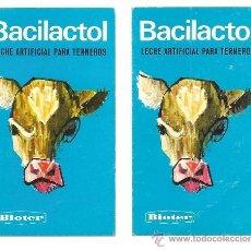 Coleccionismo Calendarios: DOS CALENDARIOS DE BOLSILLO BACILACTOL DE BIOTER AÑO 1969 - . Lote 33402433