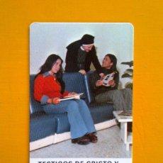 Coleccionismo Calendarios: CALENDARIO DE BOLSILLO RELIGIOSO EVAGRAF VITORIA 1977 RELIGIOSAS OBLATAS EXCELENTE ESTADO. Lote 33420141