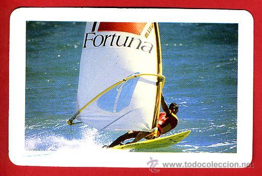 CALENDARIO FOURNIER, PUBLICIDAD TABACO FORTUNA , SULF , 1988 , ORIGINAL, CAL6922 (Coleccionismo - Calendarios)
