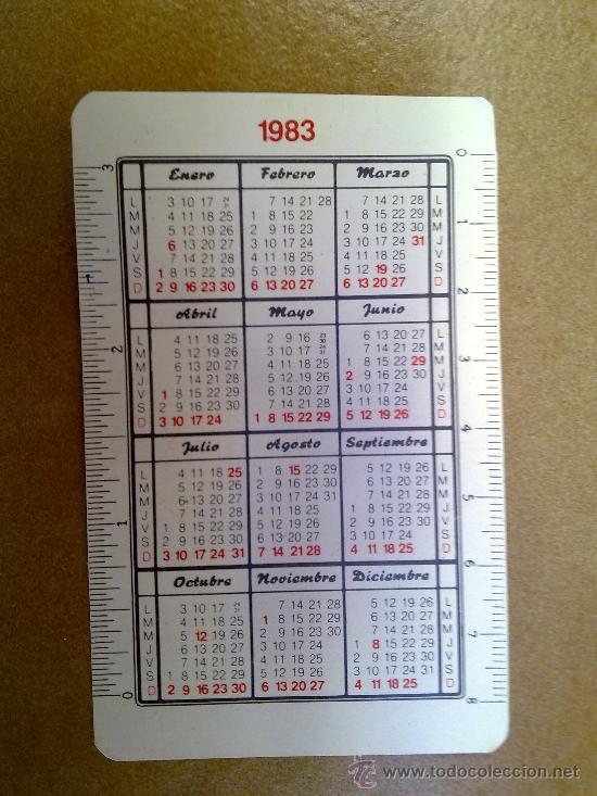 Coleccionismo Calendarios: calendario unt union nacional de trabajadores 1983 - Foto 2 - 33530889