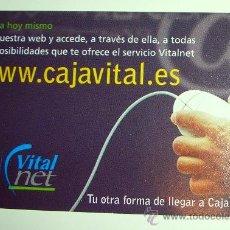 Coleccionismo Calendarios: CALENDARIO CAJA VITAL/VITAL KUTXA 2001 . FOURNIER. Lote 47406193