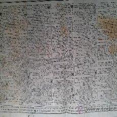 Coleccionismo Calendarios: 1843. CALENDARIO PARA ARZOBISPO DE SEVILLA PARA 1843. OBSERVATORIO ASTRONOMICO NACIONAL. 2 HOJAS. Lote 33660629