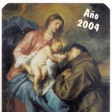 Coleccionismo Calendarios: -42639 CALENDARIO REVISTA EL SANTO, AÑO 2004, PP CAPUCHINOS. Lote 33768136