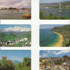 Coleccionismo Calendarios: 6 CALENDARIOS PAISAJES ESPAÑA AÑO 1997 SERIE BO. Lote 33778468