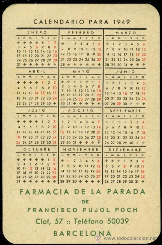 Coleccionismo Calendarios: - Foto 2 - 34165636
