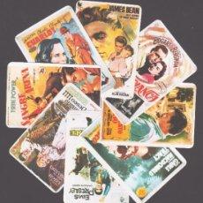 Coleccionismo Calendarios: 8 CALENDARIOS CON REPRODUCCIONES DE CARTELES DE CINE - 1985. Lote 36097363