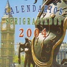 Coleccionismo Calendarios: CATALOGO DE CALENDARIOS SERIE CB SERIGRAFIADOS DEL 2004. Lote 34334589